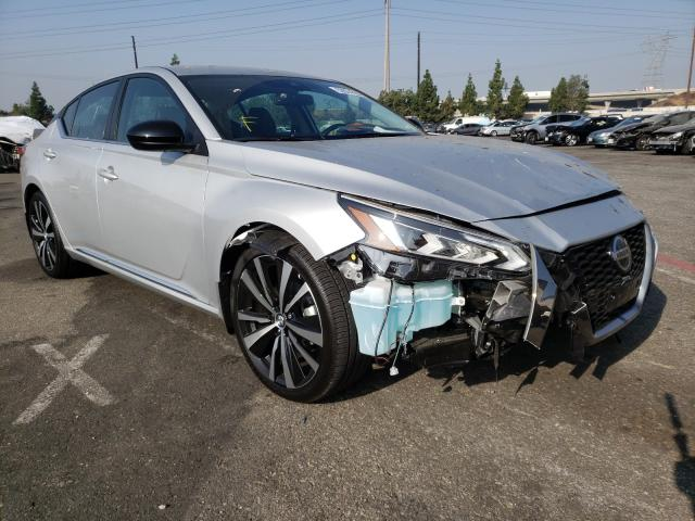 Salvage cars for sale from Copart Rancho Cucamonga, CA: 2020 Nissan Altima SR