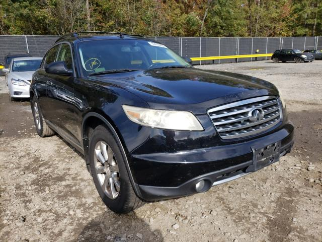 Infiniti FX35 salvage cars for sale: 2007 Infiniti FX35
