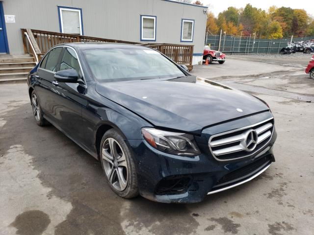 Salvage cars for sale from Copart Duryea, PA: 2017 Mercedes-Benz E 300 4matic