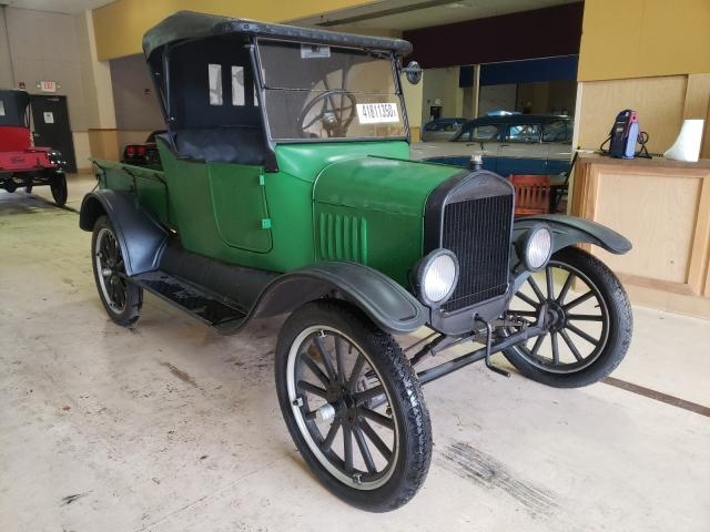 Salvage cars for sale from Copart Exeter, RI: 1923 Ford Model T