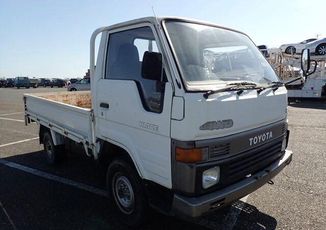 Salvage cars for sale from Copart North Billerica, MA: 1988 Toyota 1 TON Truc