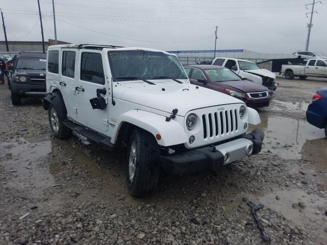 Salvage cars for sale from Copart Columbus, OH: 2015 Jeep Wrangler U