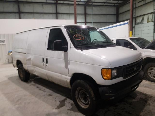 Salvage cars for sale from Copart Lawrenceburg, KY: 2004 Ford Econoline