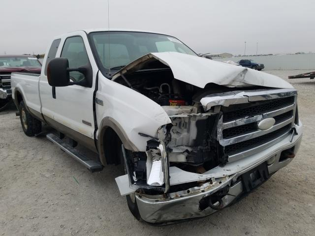 Salvage cars for sale from Copart Greenwood, NE: 2005 Ford F250 Super