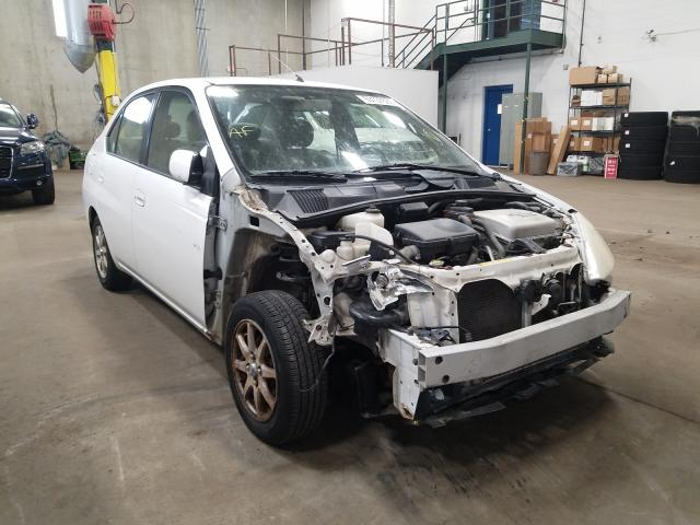 Salvage cars for sale from Copart Blaine, MN: 2002 Toyota Prius