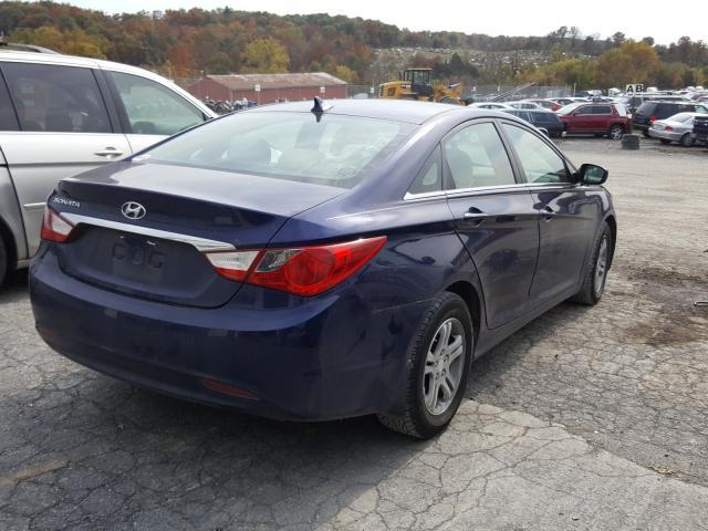цена в сша 2011 Hyundai Sonata Gls 2.4L 5NPEB4AC5BH112184