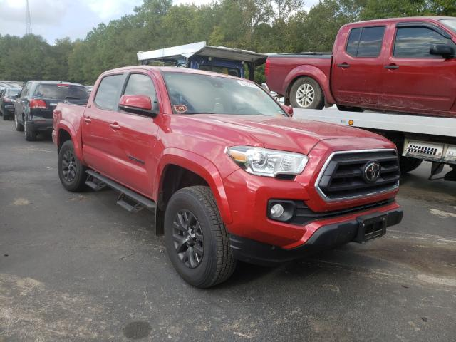 Salvage cars for sale from Copart Lufkin, TX: 2020 Toyota Tacoma DOU
