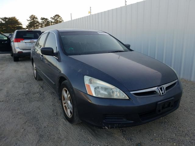 Salvage cars for sale from Copart Newton, AL: 2006 Honda Accord EX