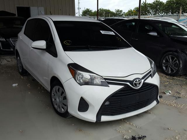 Salvage cars for sale from Copart Homestead, FL: 2016 Toyota Yaris L