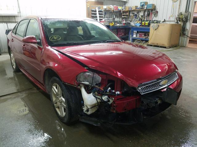 Salvage cars for sale from Copart Avon, MN: 2013 Chevrolet Impala LT