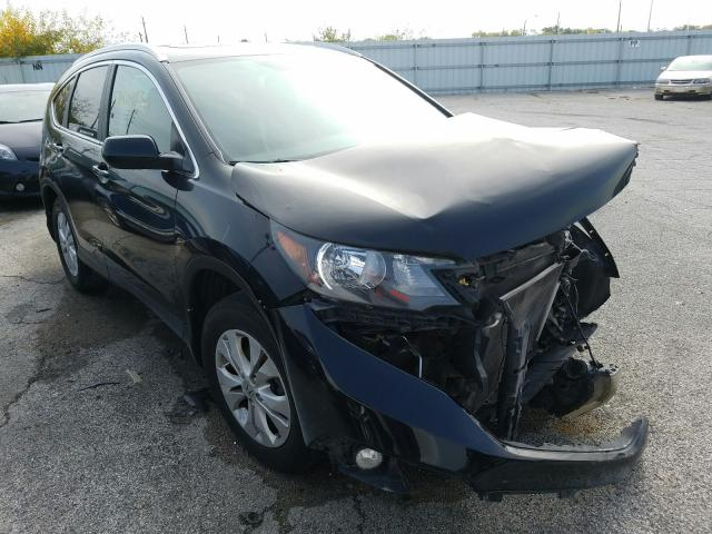 Salvage cars for sale from Copart Indianapolis, IN: 2012 Honda CR-V EXL
