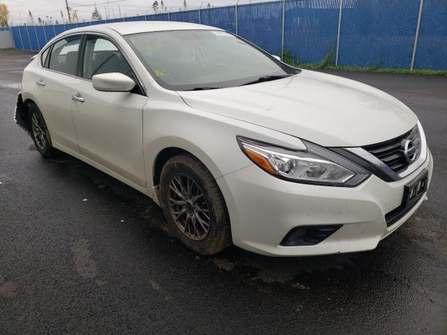 Salvage cars for sale from Copart Moncton, NB: 2016 Nissan Altima 2.5