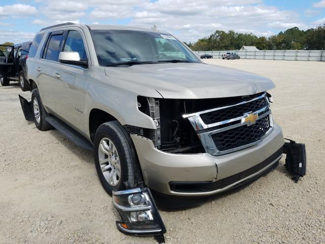 Salvage cars for sale from Copart Newton, AL: 2017 Chevrolet Tahoe C150