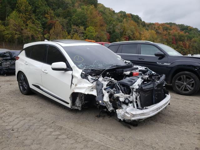 Acura RDX A-Spec salvage cars for sale: 2019 Acura RDX A-Spec