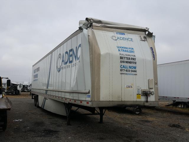 Stoughton salvage cars for sale: 2019 Stoughton Trailer