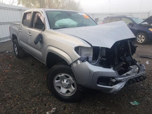 Salvage cars for sale at West Mifflin, PA auction: 2019 Toyota Tacoma DOU