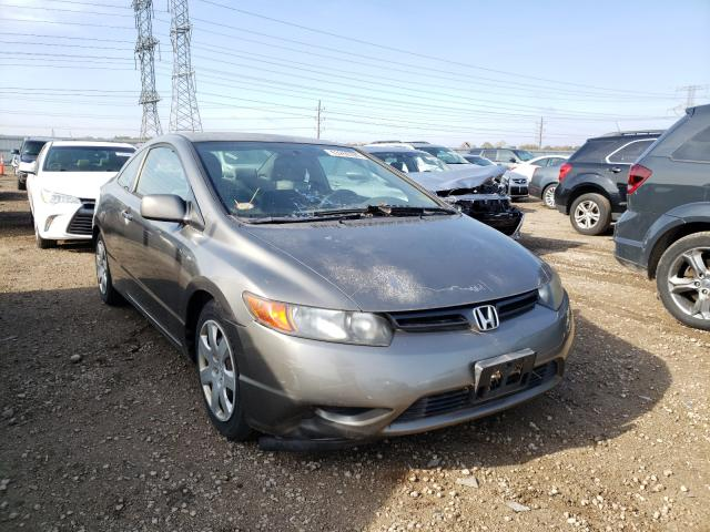 Salvage cars for sale from Copart Elgin, IL: 2006 Honda Civic