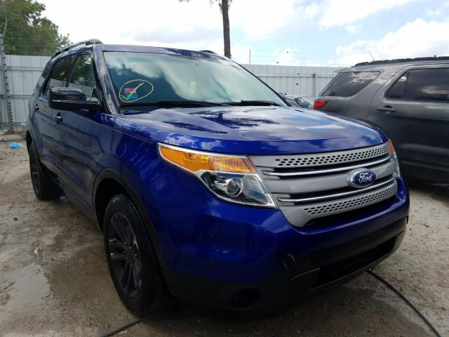 Ford Explorer salvage cars for sale: 2015 Ford Explorer