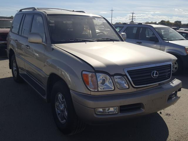 Lexus LX 470 salvage cars for sale: 2002 Lexus LX 470