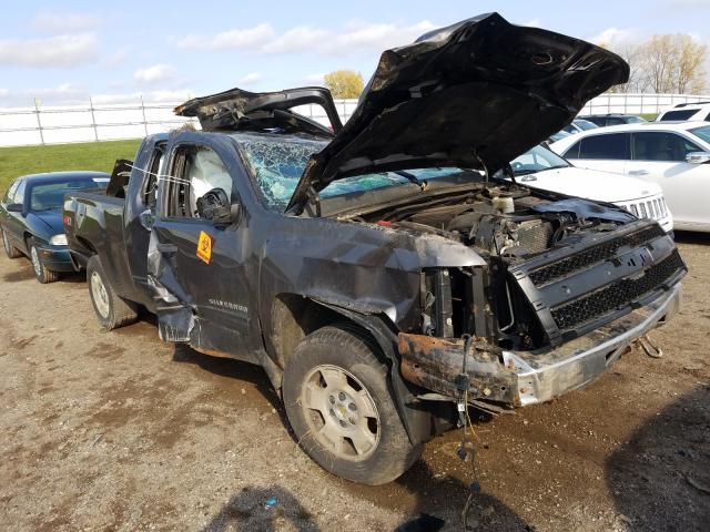 Salvage trucks for sale at Portland, MI auction: 2010 Chevrolet Silverado