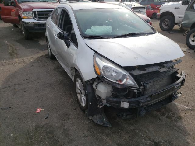 KIA Rio EX salvage cars for sale: 2016 KIA Rio EX