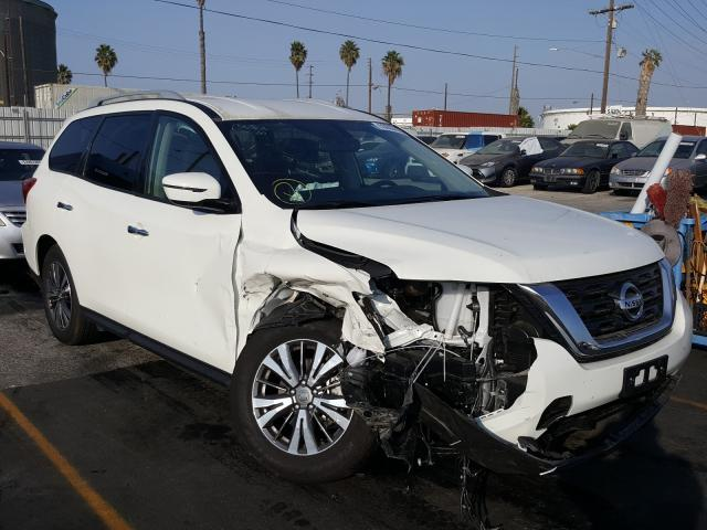 Salvage cars for sale from Copart Wilmington, CA: 2020 Nissan Pathfinder