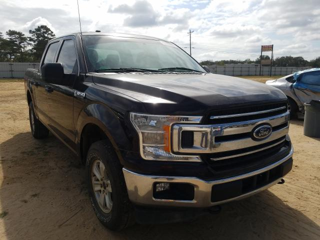 Salvage cars for sale from Copart Newton, AL: 2018 Ford F150 Super