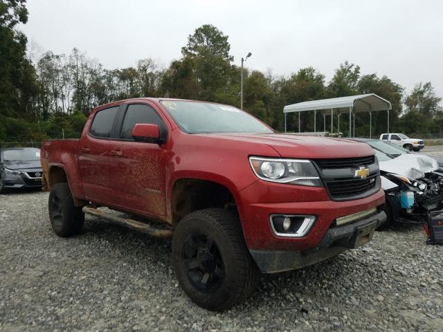 Salvage cars for sale from Copart Tifton, GA: 2015 Chevrolet Colorado Z