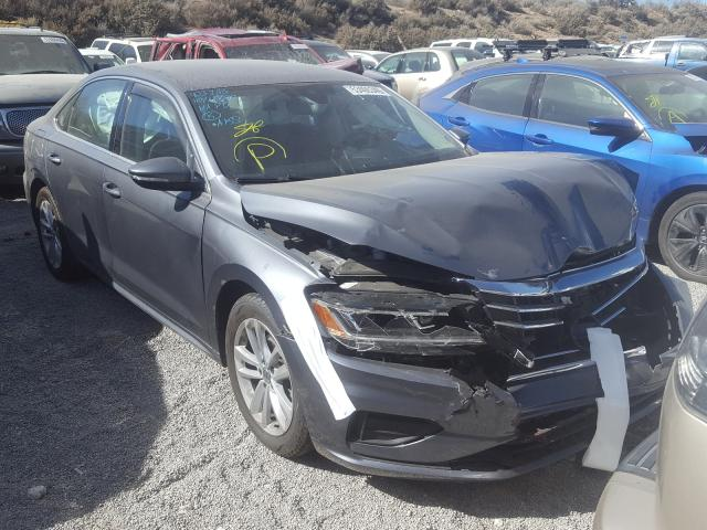 Salvage cars for sale from Copart Reno, NV: 2020 Volkswagen Passat SE