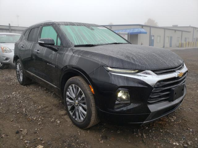 Salvage cars for sale from Copart Finksburg, MD: 2019 Chevrolet Blazer PRE