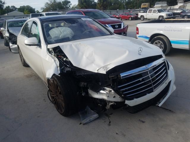 Salvage cars for sale from Copart Fort Pierce, FL: 2017 Mercedes-Benz S 550