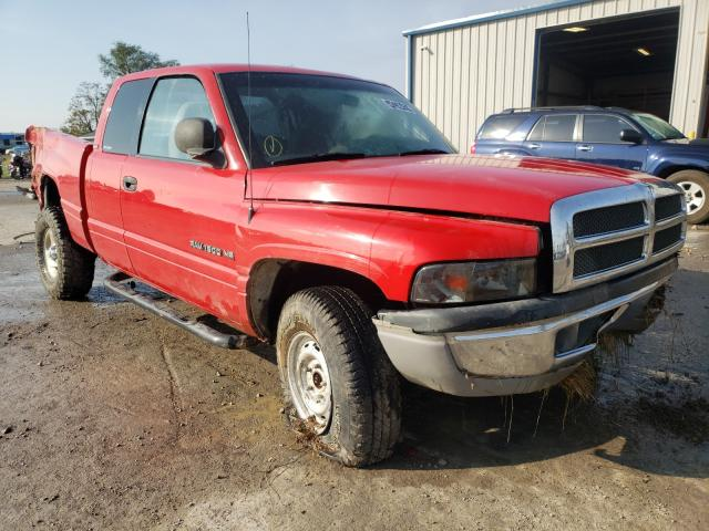Salvage cars for sale from Copart Sikeston, MO: 2001 Dodge RAM 1500