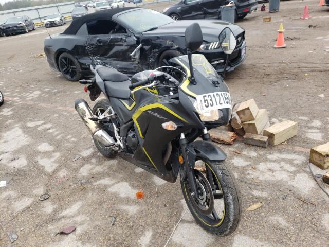 Salvage cars for sale from Copart Wichita, KS: 2015 Honda CBR300 RA
