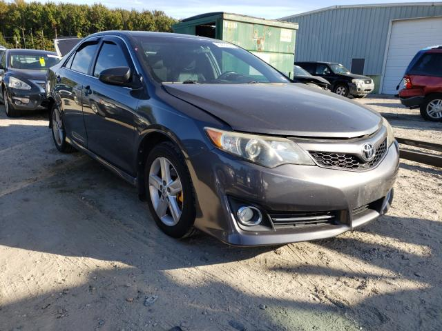 Salvage cars for sale from Copart Hampton, VA: 2012 Toyota Camry Base