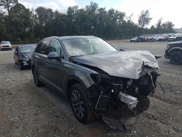 Salvage cars for sale from Copart Tifton, GA: 2017 Audi Q7 Premium