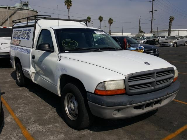 Dodge Dakota salvage cars for sale: 2001 Dodge Dakota