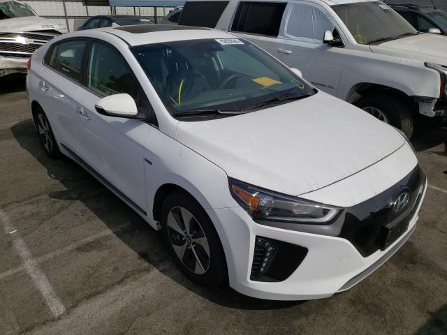 Salvage cars for sale from Copart Rancho Cucamonga, CA: 2019 Hyundai Ioniq Limited