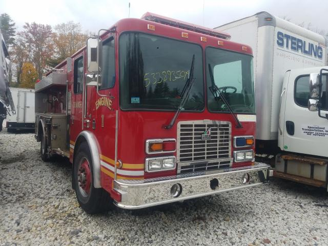 Hendrickson salvage cars for sale: 2001 Hendrickson Firetruck