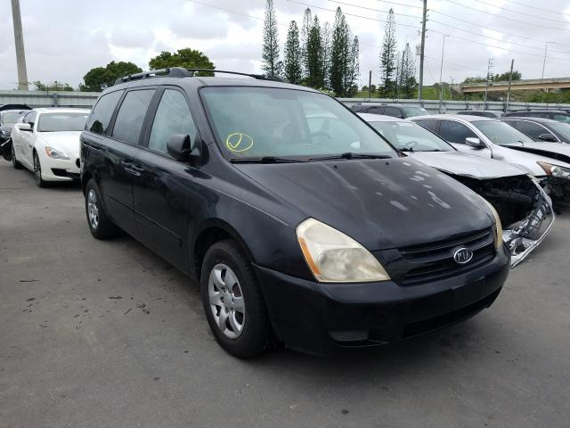 KIA Sedona EX salvage cars for sale: 2007 KIA Sedona EX