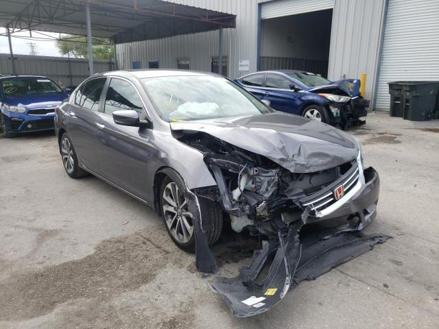 Salvage cars for sale from Copart Orlando, FL: 2014 Honda Accord Sport