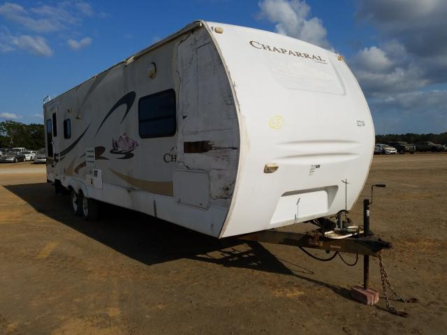 Coachmen Chaparral salvage cars for sale: 2007 Coachmen Chaparral