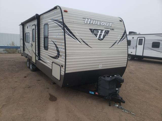 Keystone Hideout LH salvage cars for sale: 2017 Keystone Hideout LH