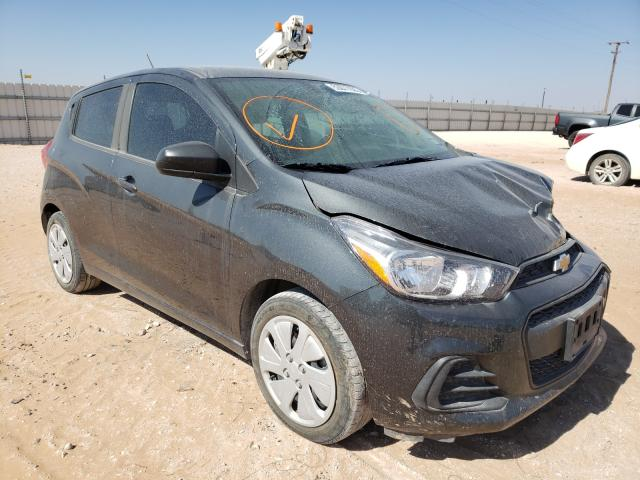 Salvage cars for sale from Copart Andrews, TX: 2018 Chevrolet Spark LS