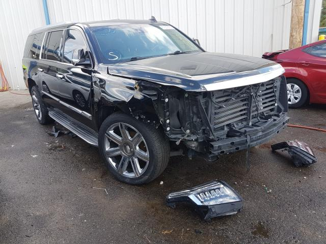 Salvage cars for sale at Memphis, TN auction: 2015 Cadillac Escalade E