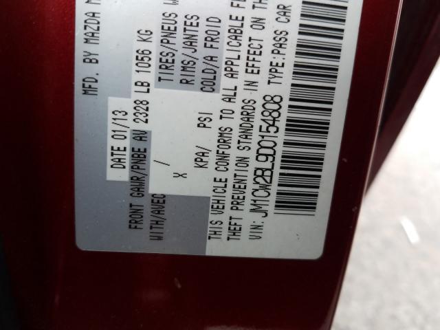JM1CW2BL9D0154808 2013 Mazda 5 2.5L