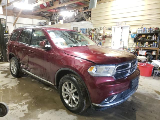 Salvage cars for sale from Copart Billings, MT: 2017 Dodge Durango SX