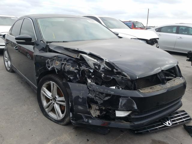 Salvage cars for sale from Copart Grand Prairie, TX: 2013 Volkswagen Passat SEL