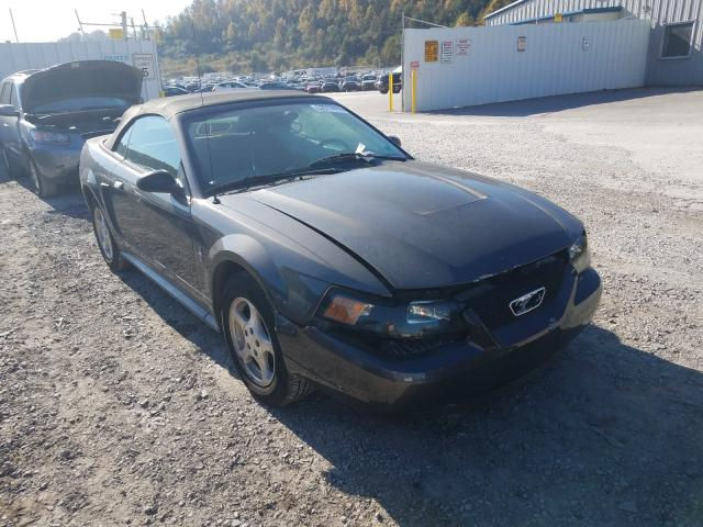 Salvage cars for sale from Copart Hurricane, WV: 2003 Ford Mustang