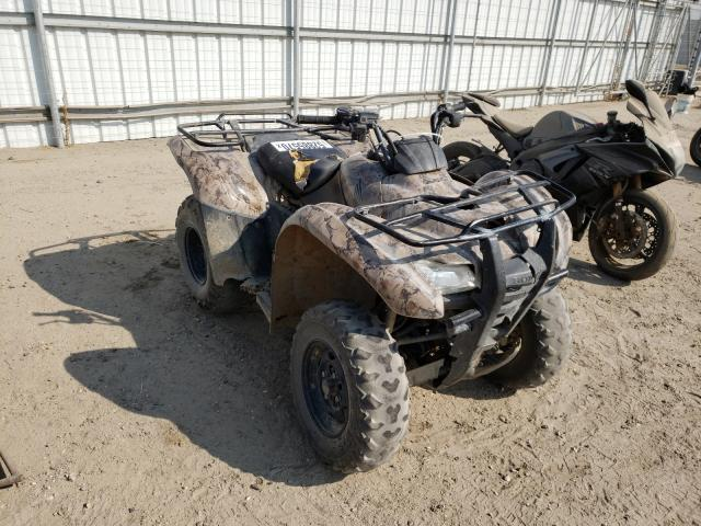 Salvage cars for sale from Copart Bakersfield, CA: 2008 Honda TRX420 FM