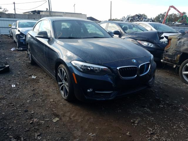 Salvage cars for sale from Copart Hillsborough, NJ: 2015 BMW 228 I Sulev
